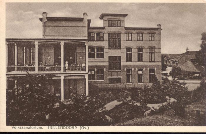 Sanatorium vroeger kronnenzommer