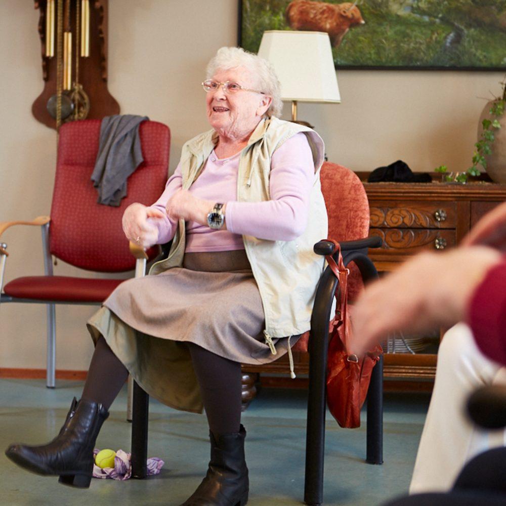 Activiteiten voor ouderen en dementerenden