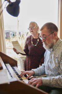 Echtpaar Visser maakt samen muziek